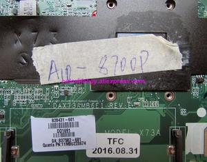 Image 3 - Echte 828431 601 828431 001 DAX73AMB6E1 A10 8700P UMA Laptop Moederbord voor HP ProBook 455 G3 Serie NoteBook PC