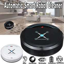 Автоматическая Смарт Потрясающим робот-Роботизированный уборщик напольная пыль USB Перезаряжаемые подметальная машина