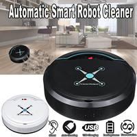 Automatic Smart Sweeping Robot Vacuum Robotic Cleaner Floor Dust USB Rechargeable Sweeping Machine