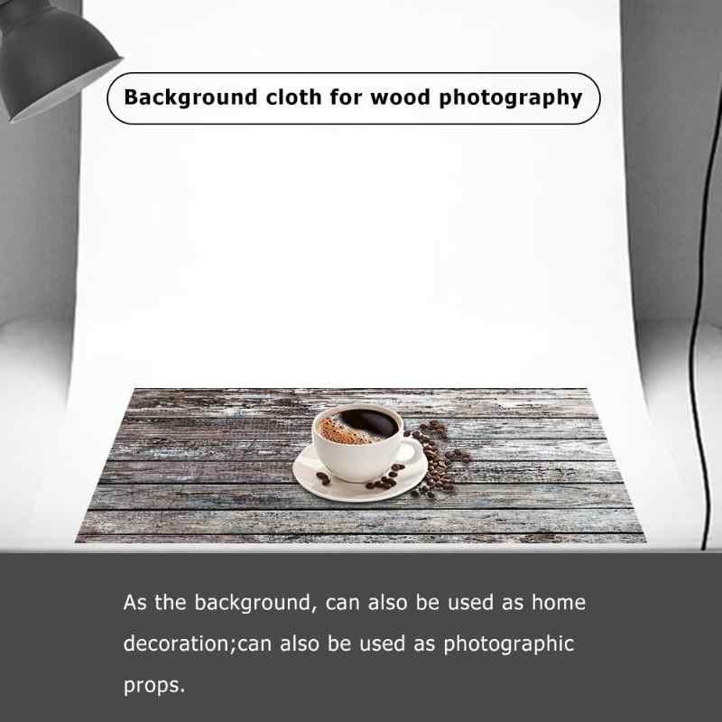 Mode planche de bois planche Texture photographie arrière-plan Studio vidéo Photo arrière-plans tissu téléphone accessoires photographiques
