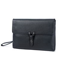 Business Handbag Male Wallets Bag Casual 2028 Men Clutch Bags Male Envelope Clutch Men Genuine Leather Purse Wallet