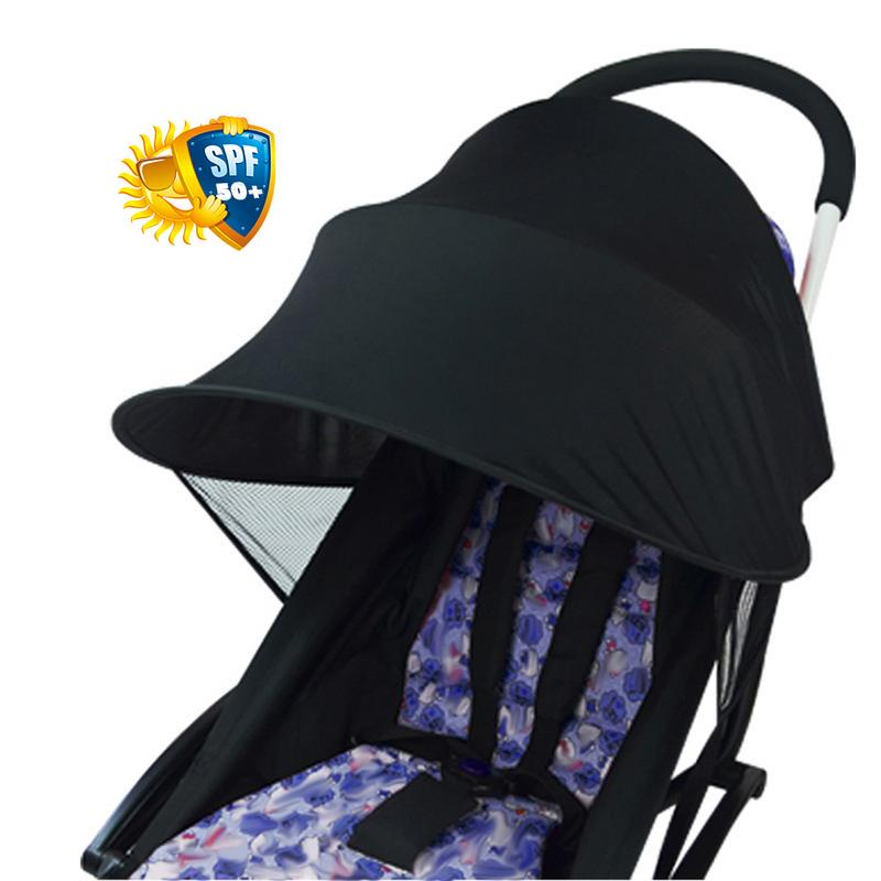 Baby Anti-UV Cloth Rayshade Stroller Cover Windproof Rainproof Sun Protection Umbrella Awning Shelter Universal Accessories