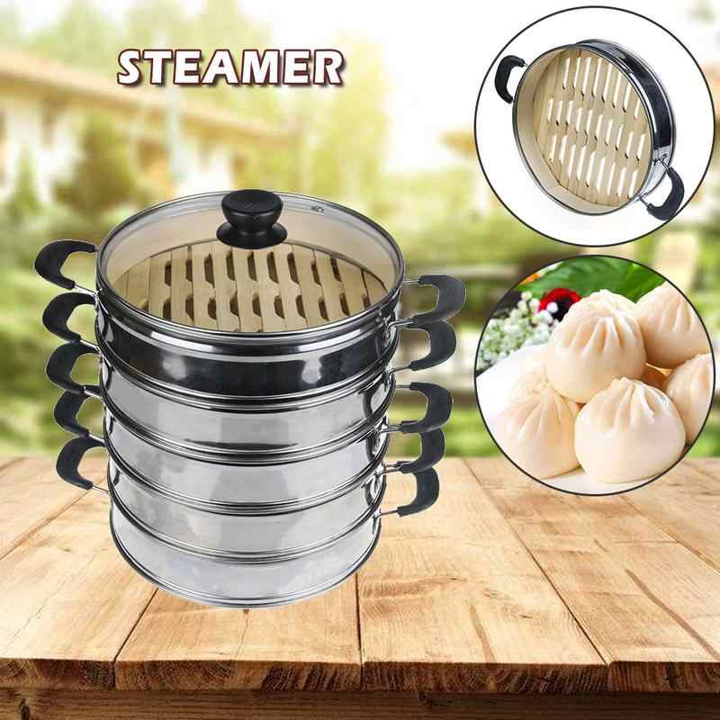 Steamed Dumplings Stainless Steel Steamer Bamboo Bottom Buns Dumplings Dim Sum Lotus Leaf Rice Food Steamer Aliexpress,Safflower Seeds In Hindi