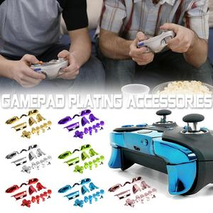 Image 1 - Bumper Trigger Guide Set DA PAD RT LT RB LB Buttons Kits For Xbox One Plating Accessories 1 Set Elite Handle 2019 New