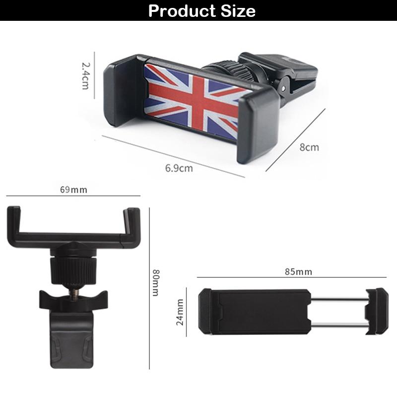 Универсальный держатель Gtinthebox для Mini Cooper, автомобильный держатель для телефона R50 R53 R55 R56 R60 R61 F54 F55 F56 F60
