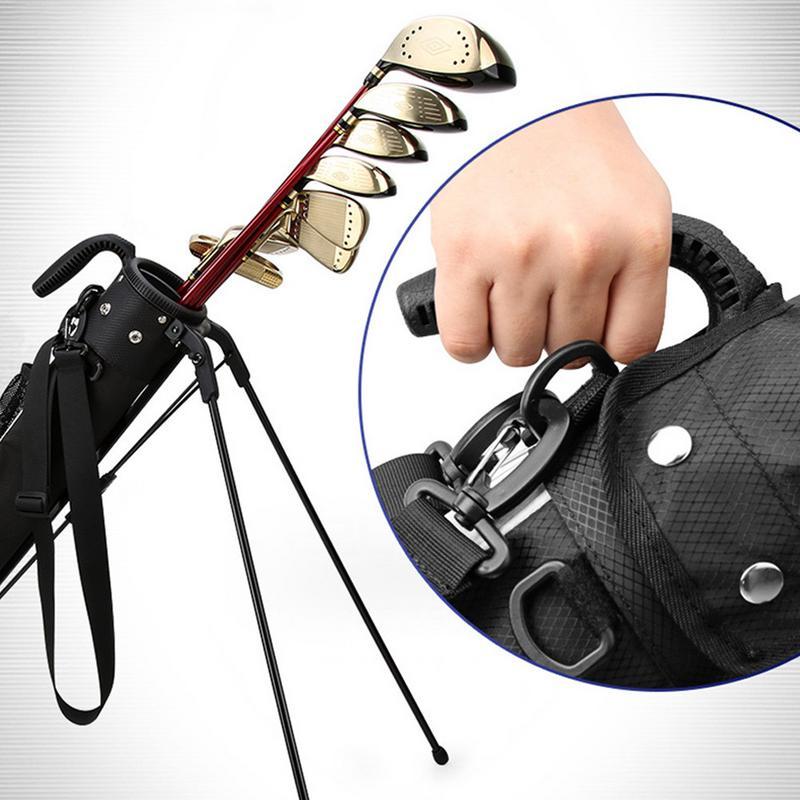 2019 nouveau sac de Golf Portable sac de soutien de Golf Super léger et grande capacité sac de pistolet sac de Golf grande capacité étanche - 4
