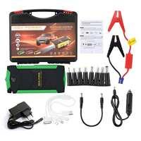 Car Battery Jump Starter 12V 82800mAh 4 USB Portable Charger Booster LED Emergency Multifunction Power Bank Kit for Car