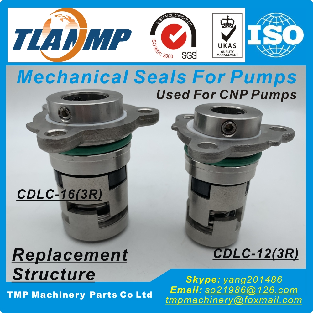 CDLC-12 (3R), CDLC-16 (3R) mechanische Dichtungen für CDL/CDLF1/2/3/4 (Ersatz Struktur) CNP/SPERONI Pumpen Patrone Dichtungen