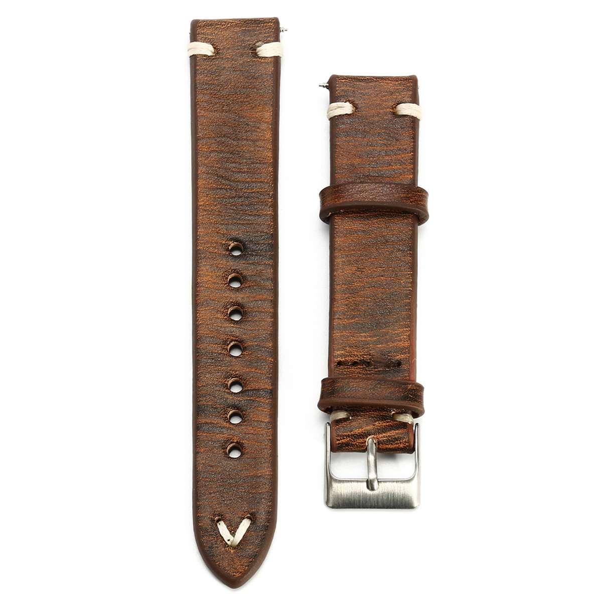 Fashion Vintage Genuine Leather Straps 18-24mm Watch Accessories Wrist Strap For Watches Pin Buckle Watchband Men Women Watch
