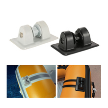 1pc PVC Anchor Tie off Patch Holder Wheel Row Roller for Boating Inflatable Boats Kayaks Dinghy Accessories 2019