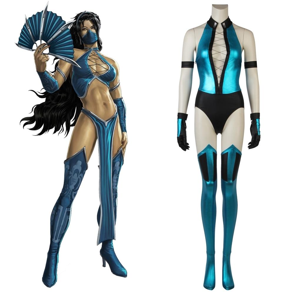 Mortal Kombat X Kitana Cosplay Costume Game Costumes Aliexpress