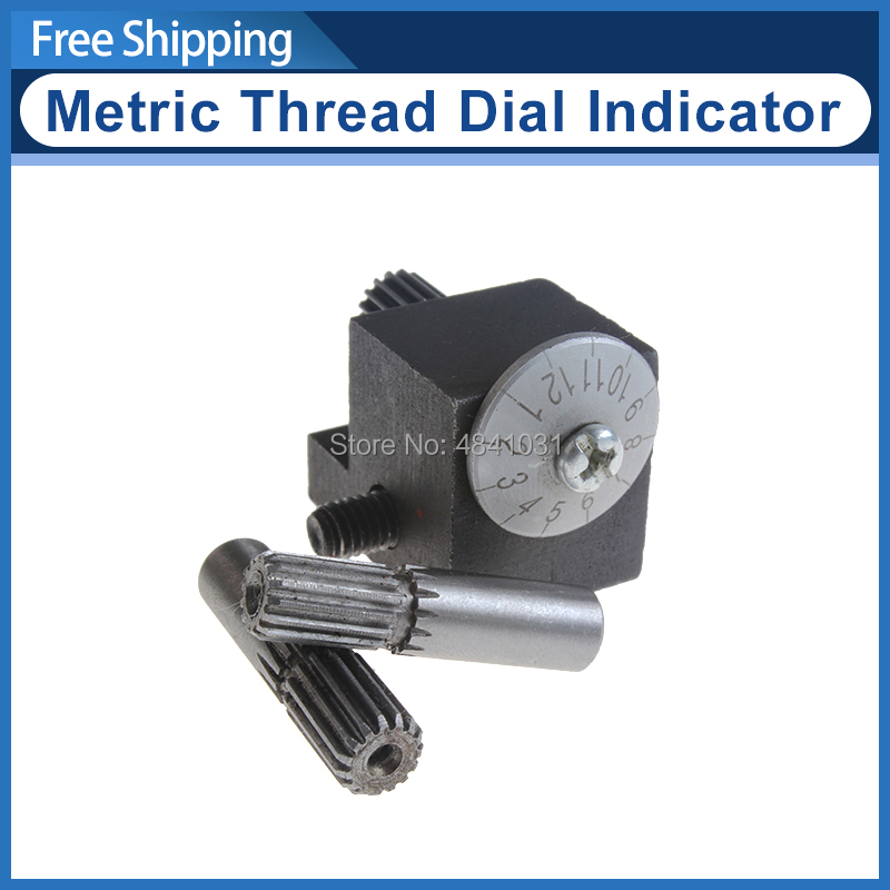 CJ0618 Metric Thread Dial Indicator/Metal Thread Chasing Cutting Dial