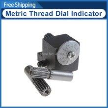 Indicador de esfera de rosca métrica CJ0618/Dial de corte roscado metálico