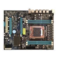 VAKIND X79 материнской RTL8111F 4 * DDR3 DIMM 2011Pin Процессор DDR3 USB3.0 SATA3.0 настольный компьютер Плата Поддержка M.2 E5 2680v2 I7
