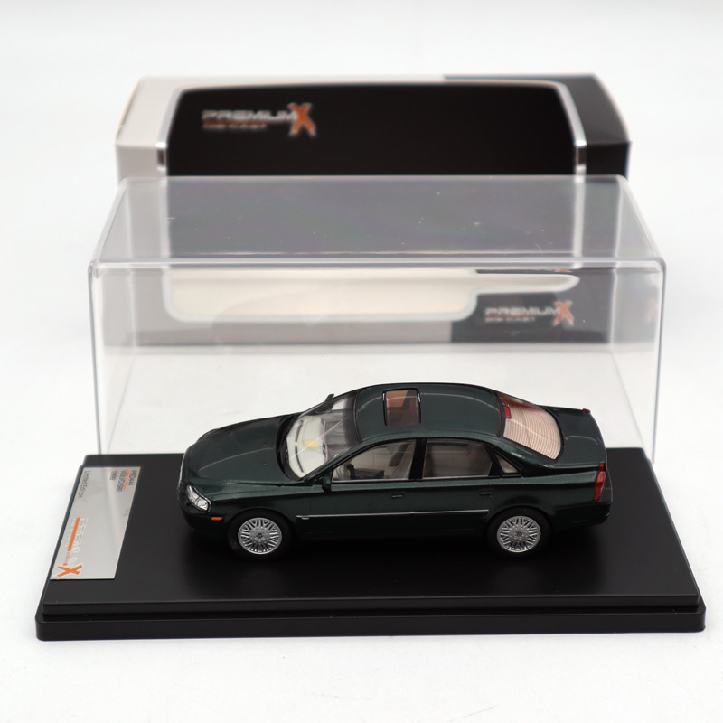 Premium X 1 43 Volvo S80 1999 Metallic Green PRD444 Diecast Models Car Limited Edition Collection