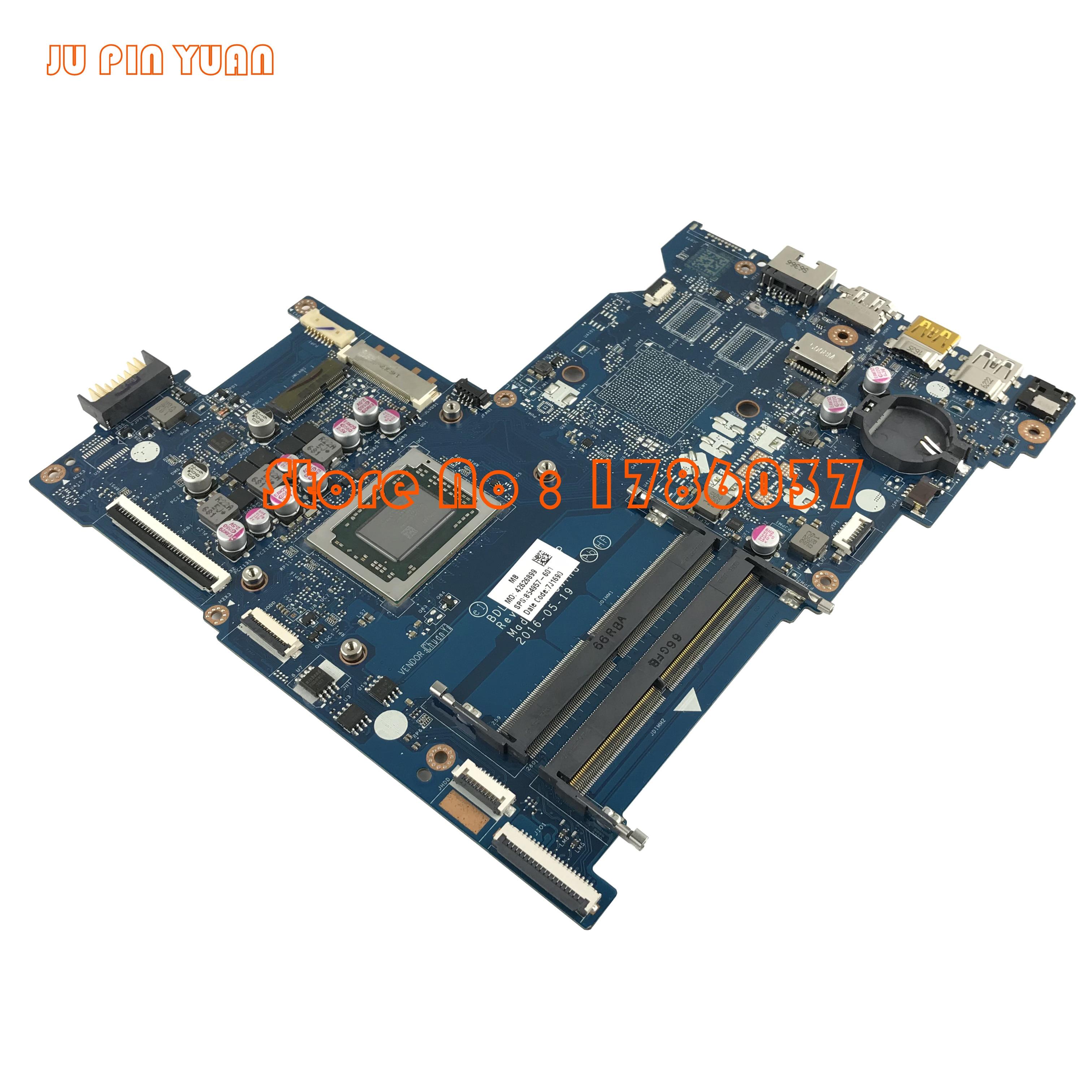 JU PIN YUAN 854957-601 854957-001 LA-D713P voor HP notebook 15-AY - Computer componenten - Foto 3