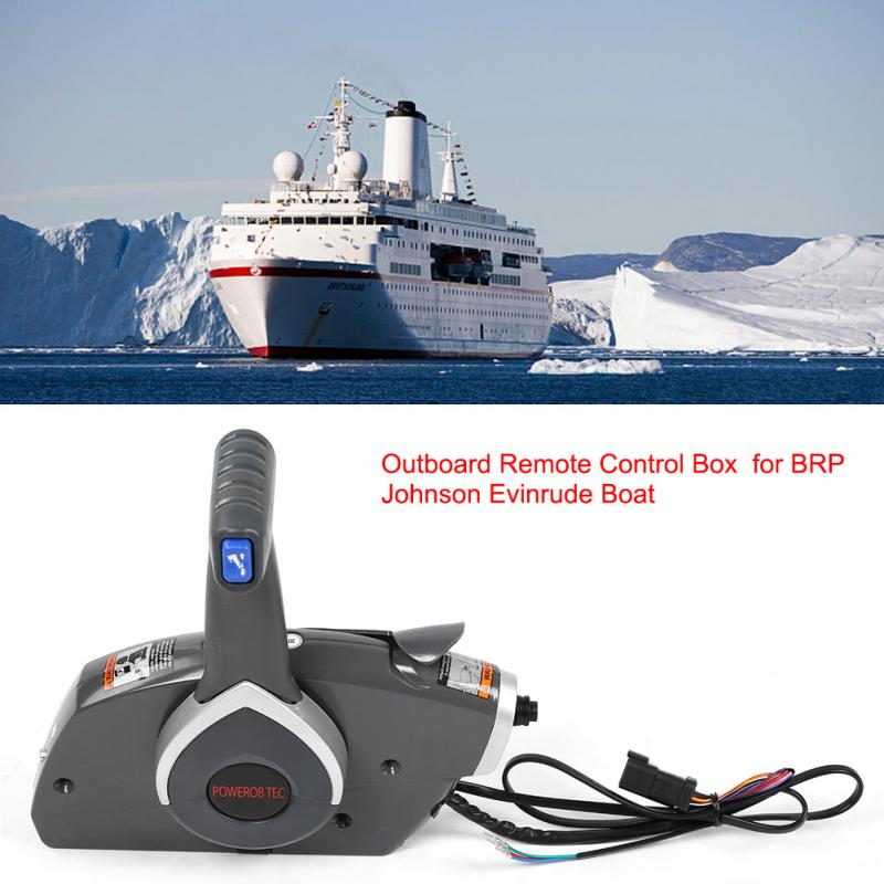 Sale Motor Outboard Remote Control Box Throttle /&Shift For BRP Johnson Evinrude