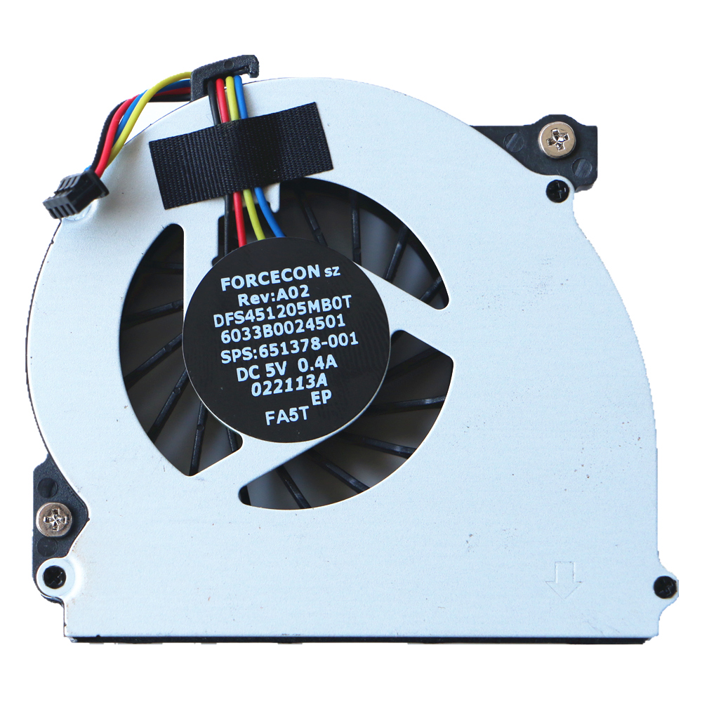 Laptop Original Cpu <font><b>Fan</b></font> For <font><b>HP</b></font> 2560 2560P <font><b>2570P</b></font> Cpu Cooling <font><b>Fan</b></font> DFS451205MB0T FA5T 6033B0024501 651378-001 image