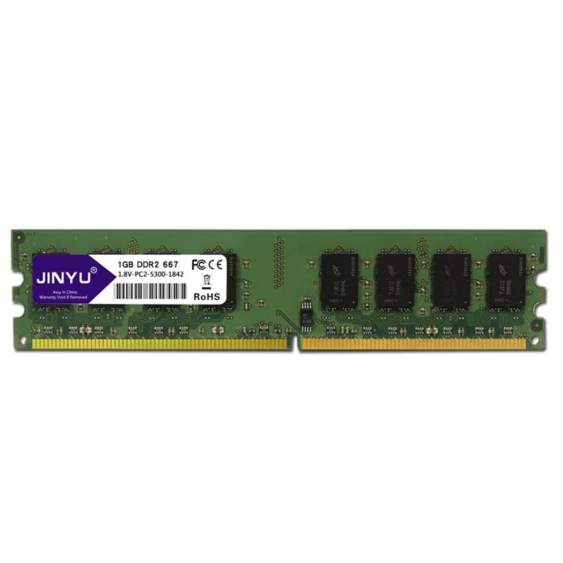 HOT-JINYU DDR2 1G 1.8V 240Pin Gaming RAM Memory For Desktop