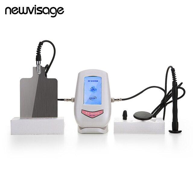 Моно полярный емкостный RF радиочастотный косметический аппарат для лица подтяжка кожи затягивание против морщин омоложение глаз массажер ...