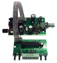 Bh1415f 100m fm estéreo placa do transmissor fase bloqueado loop digital display led freqüência fm módulo de rádio receptor 5v 12v dc