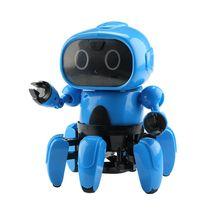 LEORY умный радиоуправляемый робот программируемый жесты следуя авои танец Синг танец USB RC робот игрушка модернизированная