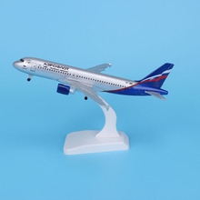 Aeroflot Russian Airbus A380 Aircraft Model Diecast Metal Airplanes 20cm 1:400 Airplane Toy Plane Gift