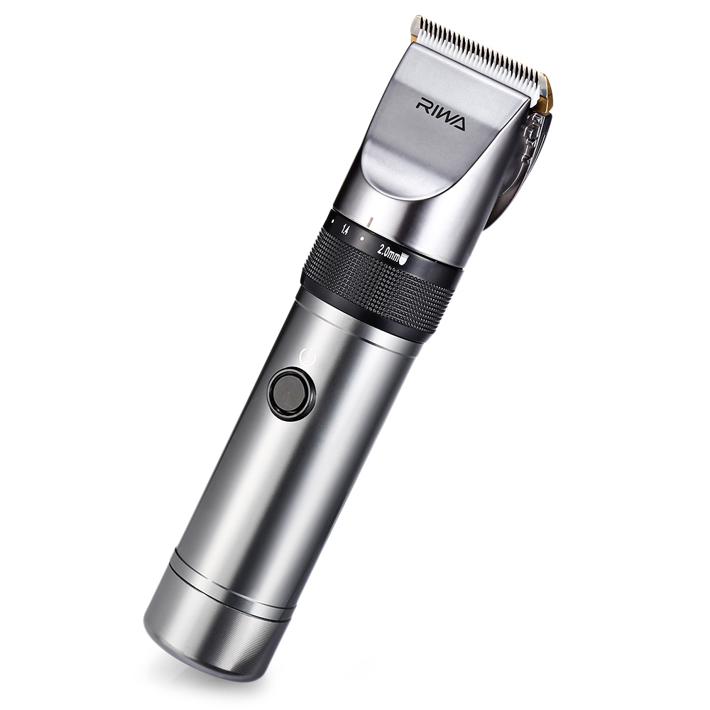 RIWA X9 Adjustable Electric Rechargeable Hair Clipper Haircut Trimmer More than 4 hours Working Time in Styling Accessories from Beauty Health