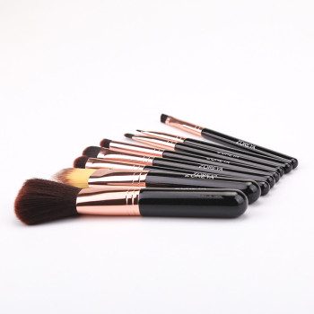 ZOREYA Brand 8Pcs High Quality Makeup Brush Sets Foundation Powder Lip Eye Brow Shadow Cosmetic Tools For Daily Face Make Up 5