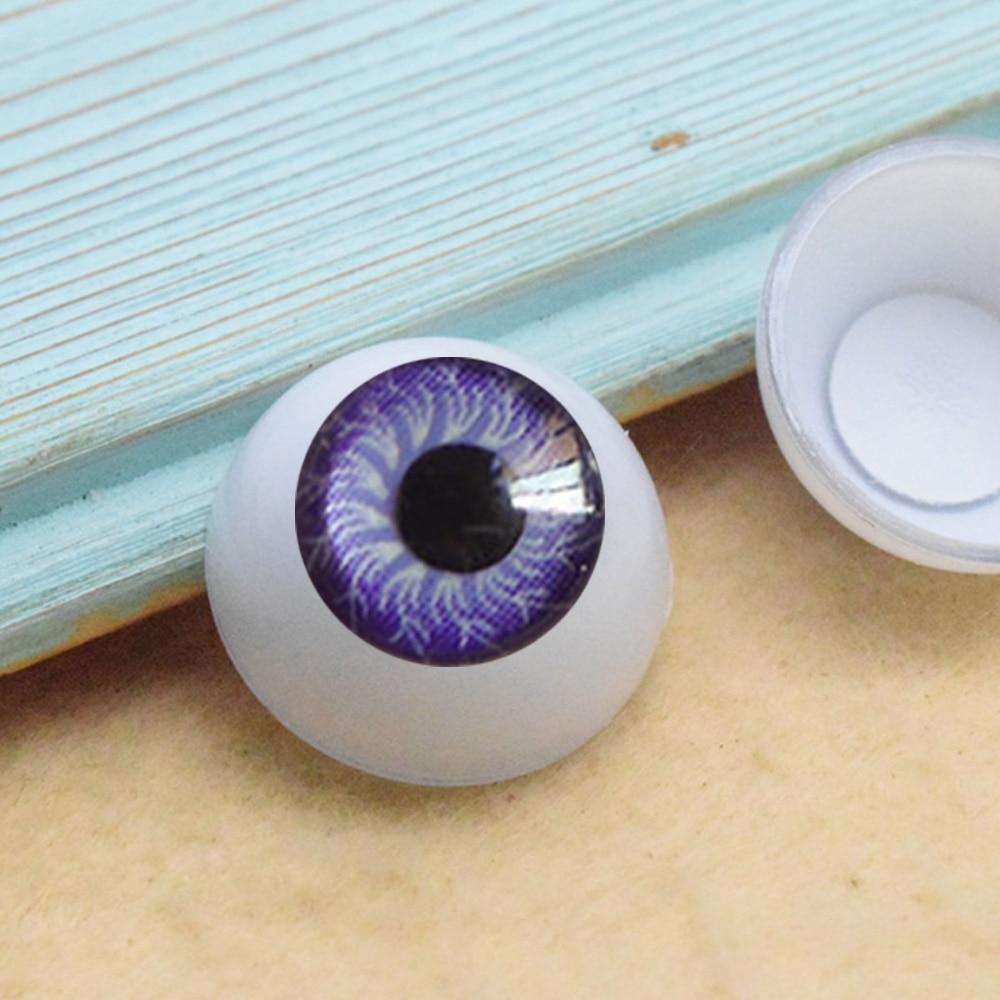 Apparel Sewing & Fabric Cheap Price New Childrens Gift Doll Head Eyeball Diy Handmade Accessories 12mm Cream Mobile Phone Shell Eyeball Material