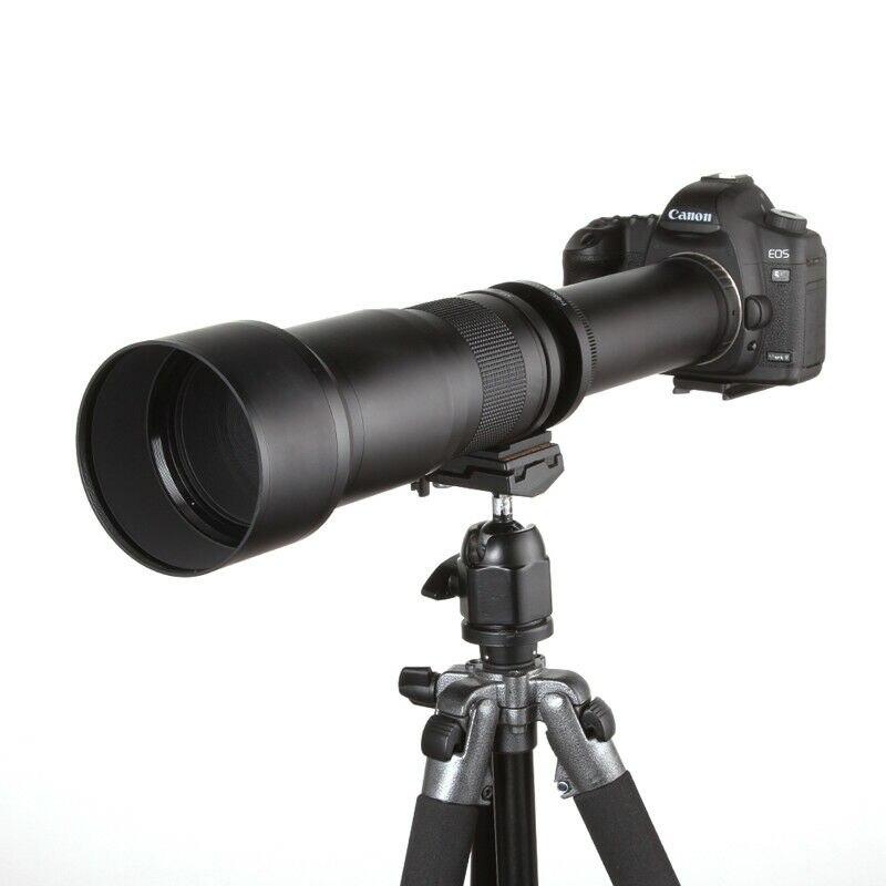 JINTU 650-1300 millimetri f/8-16 Cena Teleobiettivo Zoom per Canon EOS 760D 800D 77D 60D 70D 80D 6D 7D 6DII 7DII...