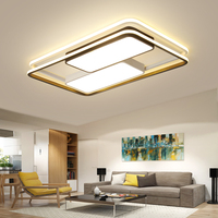 Ultra thin 6cm Dimmable LED Ceiling Lamps Square Rectangle Iron Modern Led Ceiling Lights For Living Room Bedroom lampara techo