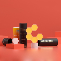 5 шт. Lifesmart LS160 креативная Геометрическая сборка умный пульт управления домашняя панель свет светодиодный ночник для Google Home Amazon Alexa лампа