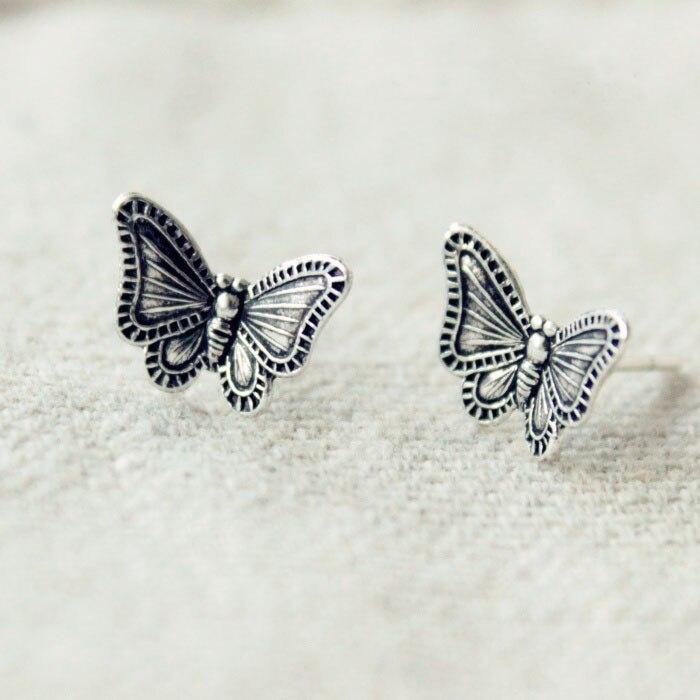 REETI   Butterfly   Retro Earrings 925 Sterling Silver Earrings For Women Statement Jewelry Brincos Pendientes Bijoux