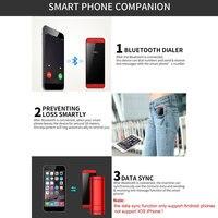 DOITOP Luxury Ultra thin Touch Screen MP3 MP4 Music Player Smart Phone Dual SIM Slot Bluetooth Dialer Card Mobile Phone FM Radio