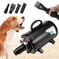 Собака сушилка для груминга дешевые водостойкие собака Фены воздуходувы низкая шум Плавная ветер скорость 120 в США Plug 2800 Вт
