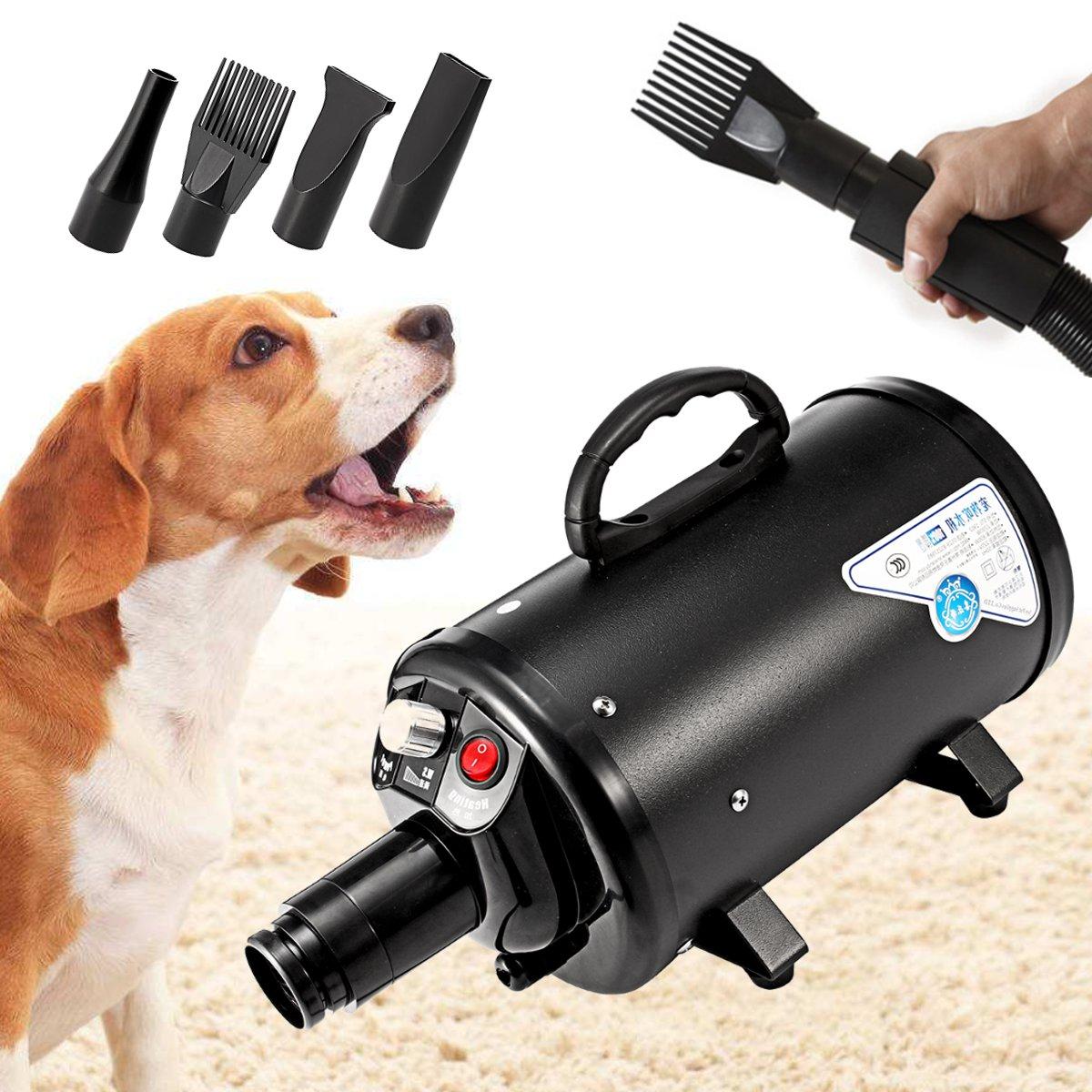 Cão Grooming Secador Secadores de Cabelo Cão de Estimação Barato À Prova D' Água Baixo Ruído do Ventilador Stepless da Velocidade do Vento 120 v EUA Plug 2800 W