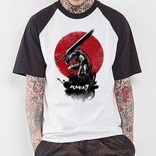 New Berserk T Shirt Men Anime Funny Cartoon T-shirt Tee Harajuku Japanese Top Tshirt Clothing Women Tshirts