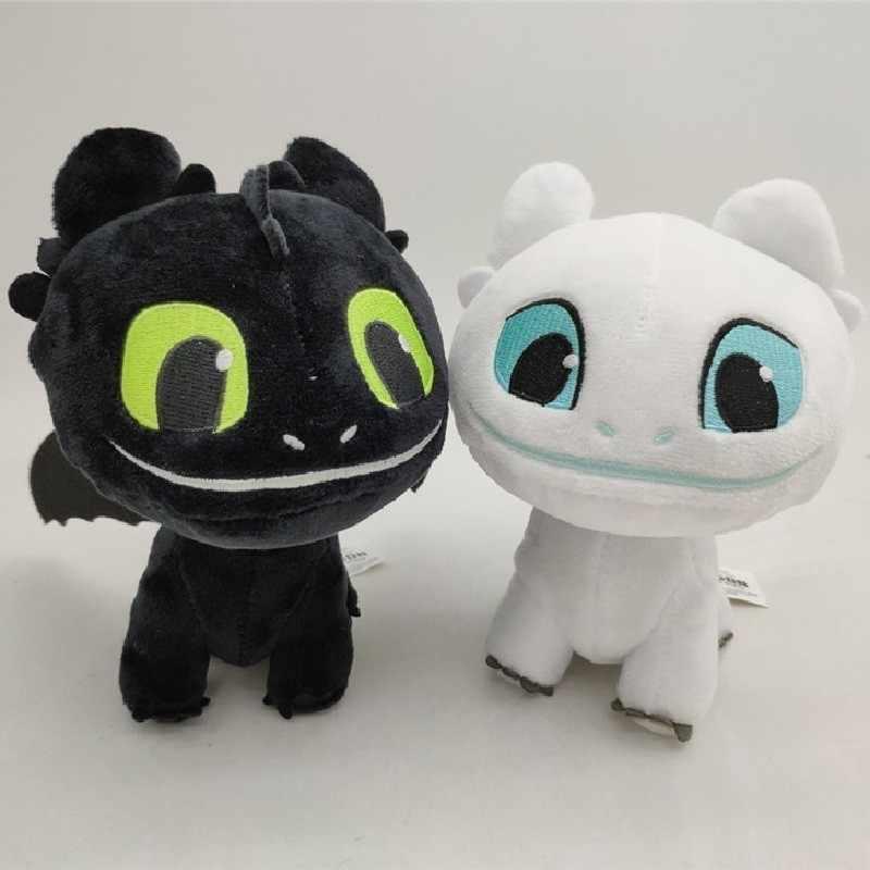 Хит, Как приручить дракона 3 световых ягод, ночная Фурия, плюшевый Беззубик, игрушки, мягкий белый черный дракон, мягкие животные, куклы, детские игрушки