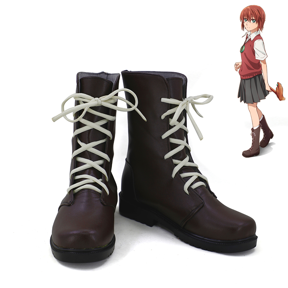 The Ancient Magus' Bride Robin Chise Hatori Cosplay Shoes Women Boots