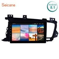 Seicane 9 Inch Quad core Android 8.1 Car radio for Kia k5 2011 2012 2013 2014 LHD car dvd player GPS navigation car multimedia