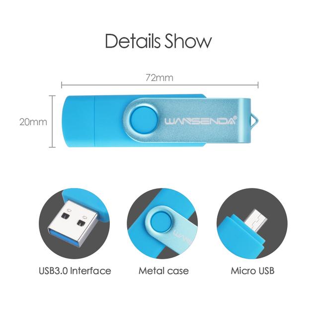 High Speed Micro USB Flash OTG Pen Drive (3.0)