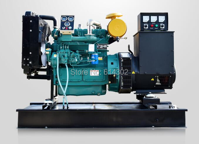 High quality China 50kw diesel generator weifang ZH4105ZD with brushless alternator and base fuel tank from supplier