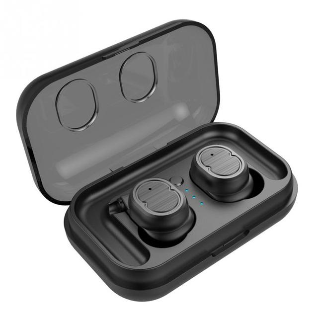 TWS-8 wireless Bluetooth Earphone headset true earbuds bass bluetooth5.0 stereo 3d headset with Charging Box