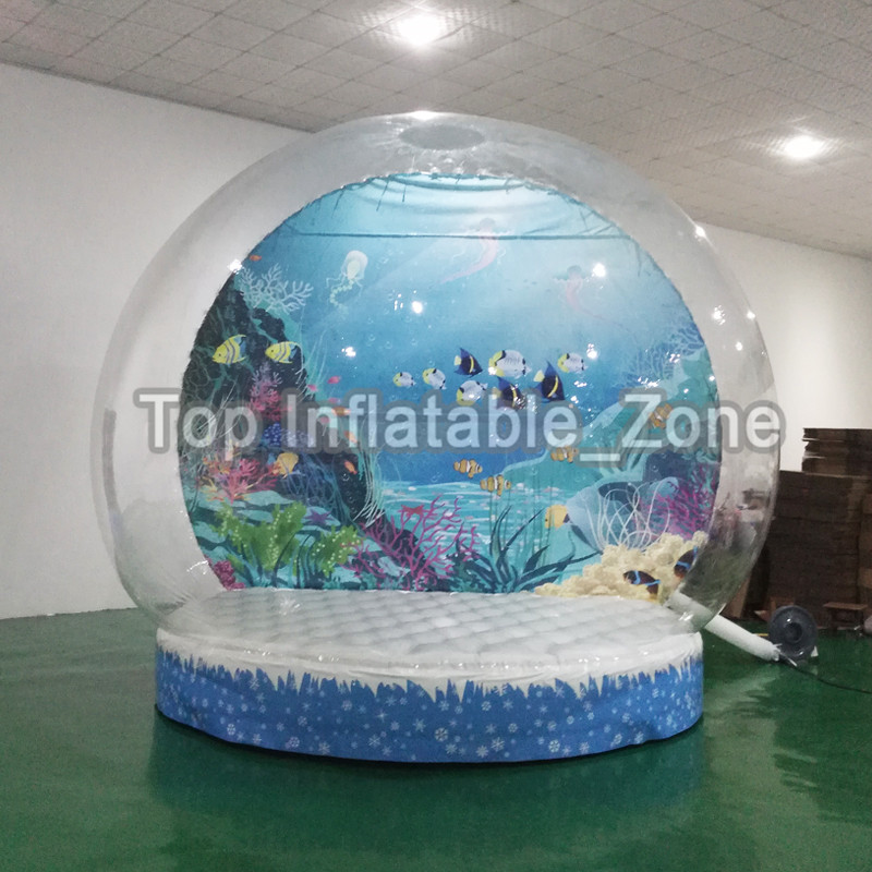 Free Shipping 2M/3M/4M Dia Inflatable Snow Globe For Christmas Decoration Hot Sale Inflatable Snow Globe For People InsideFree Shipping 2M/3M/4M Dia Inflatable Snow Globe For Christmas Decoration Hot Sale Inflatable Snow Globe For People Inside