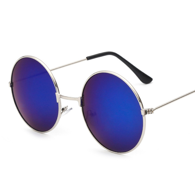b68b58fae9259 KUJUNY john lennon óculos Retro Rodada Círculo do Príncipe Óculos De Sol Do  Vintage Feminino Masculino