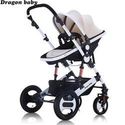 التنين الطفل عربة التنين الطفل 2 في 1 الطفل عربات محول ، شحن مجاني شحن مجاني في روسيا