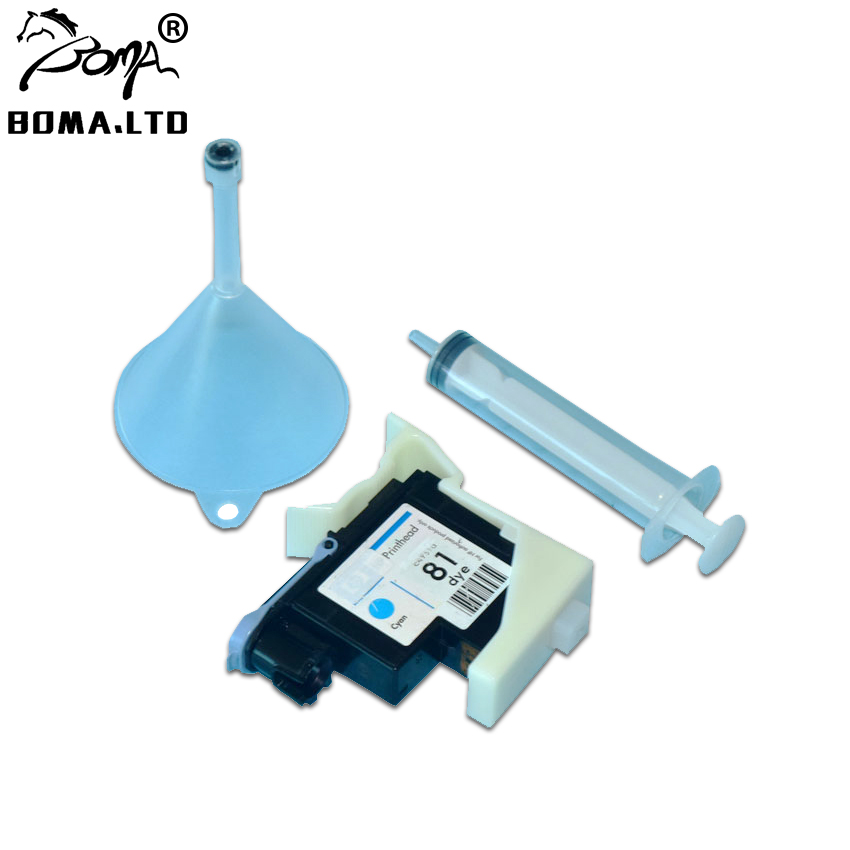 Printhead Cleaner Units Kit For HP81 HP83 Print Head Cleaning Tools For HP Designjet 5000 5500 1000 1050 1055 Printer in Printer Parts from Computer Office