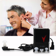 Portable Hearing Aid Digital Hearing Aid Tools for The Elderly Deaf People Behind the Ear Amplifier Adjustable Healthy Hearing недорого