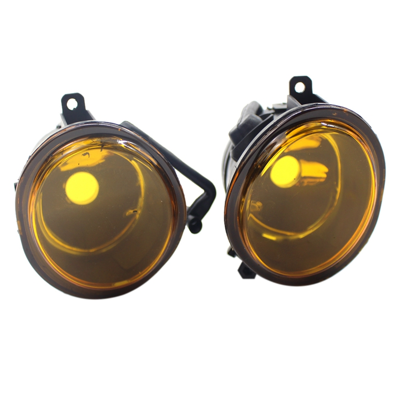 For 2001-2006 BMW E46 M3 MTECH 2 E39 M5 Pair Replacement Amber Yellow Fog Lights
